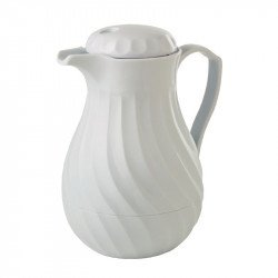 Cafetière isotherme 600ml Kinox blanche