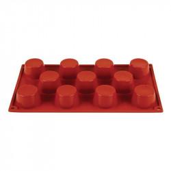 Plaque 11 mini-muffins Pavoni Formaflex silicone
