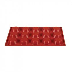 Plaque 15 tartelettes Pavoni Formaflex silicone