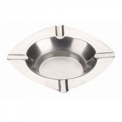 Cendrier inox EQUIPEMENT DIRECT Cendriers