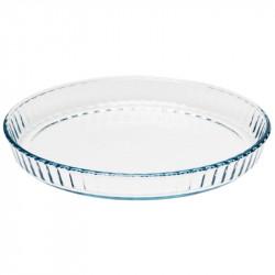 Plat à quiche Pyrex en verre Ø 270mm