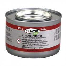 Gel combustible 2 heures Sterno x 144