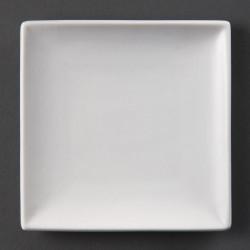 Assiette blanche Olympia carrée 14cm (Box 12)