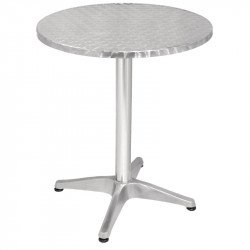Table bolero inox ronde, 60cm BOLERO Tables