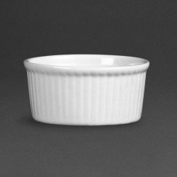 Lot de 12 ramequins Ø 80mm - porcelaine