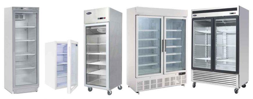 Armoires réfrigérées vitrées