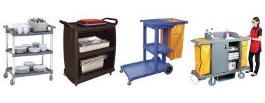 Chariots de nettoyage et service