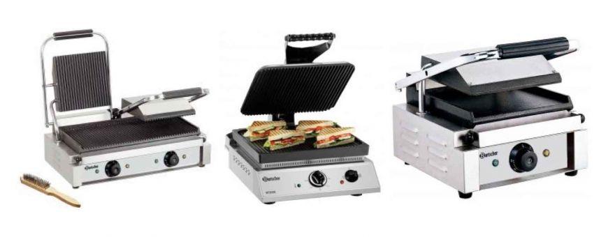 Appareils à panini électrique professionnels