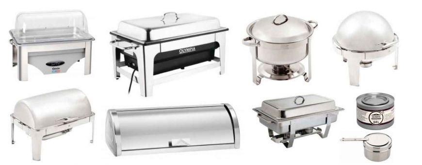 Chafing dish et chauffes plats