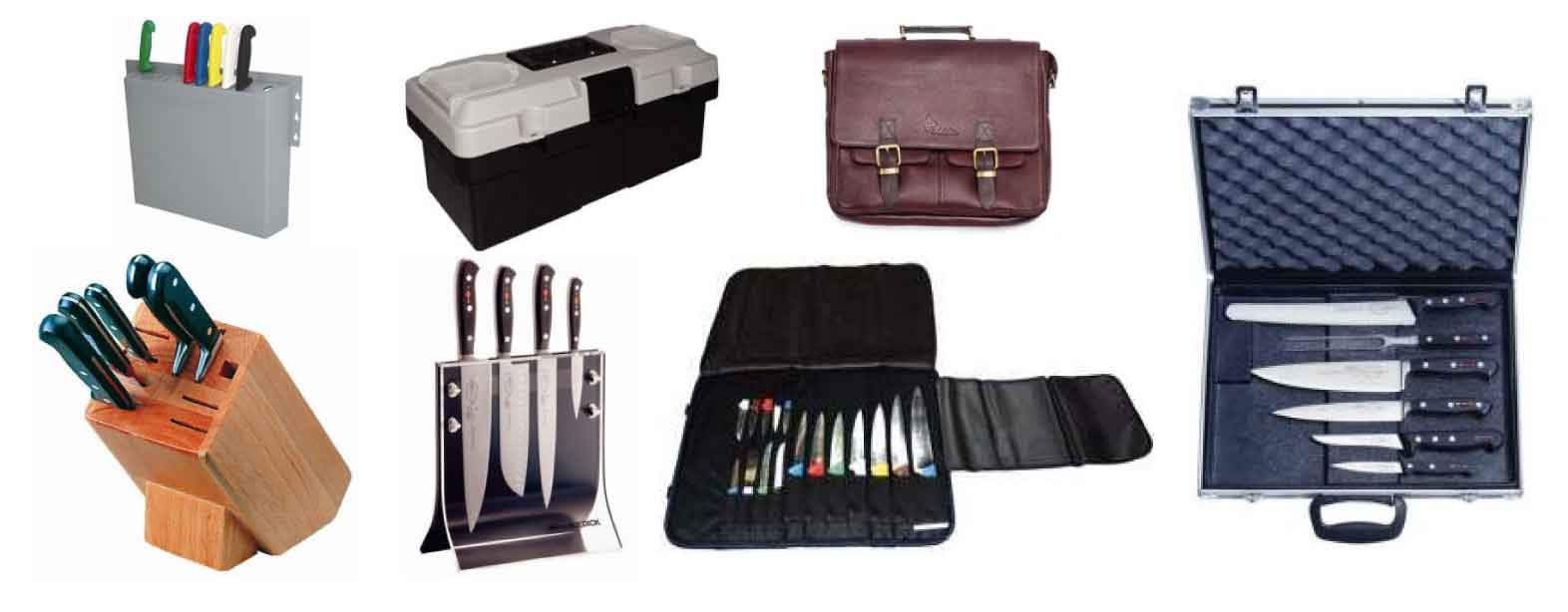 Sacoche et mallettes à couteaux