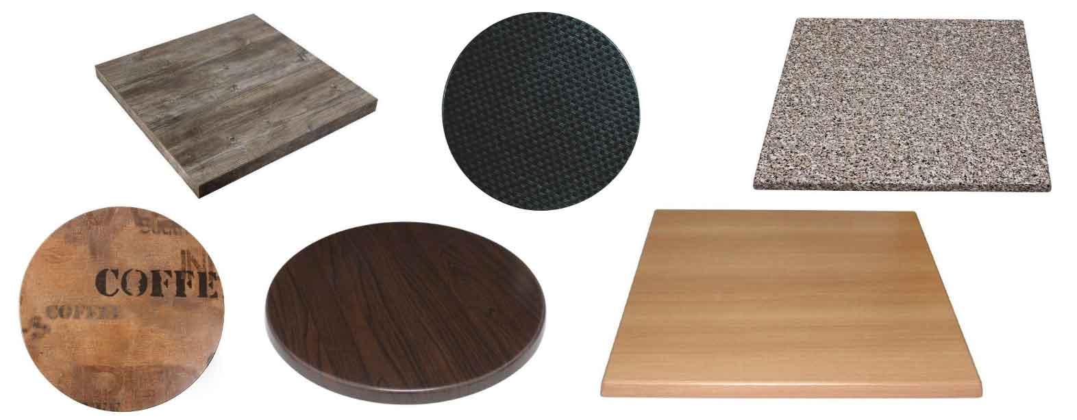 Plateaux de table