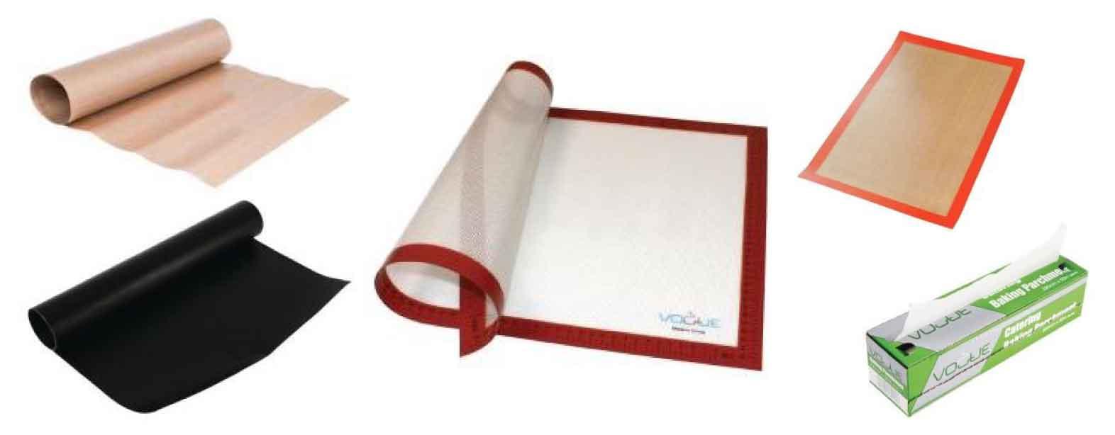 Tapis et papier de cuisson