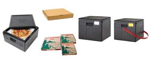 Cartons et conteneurs à pizza