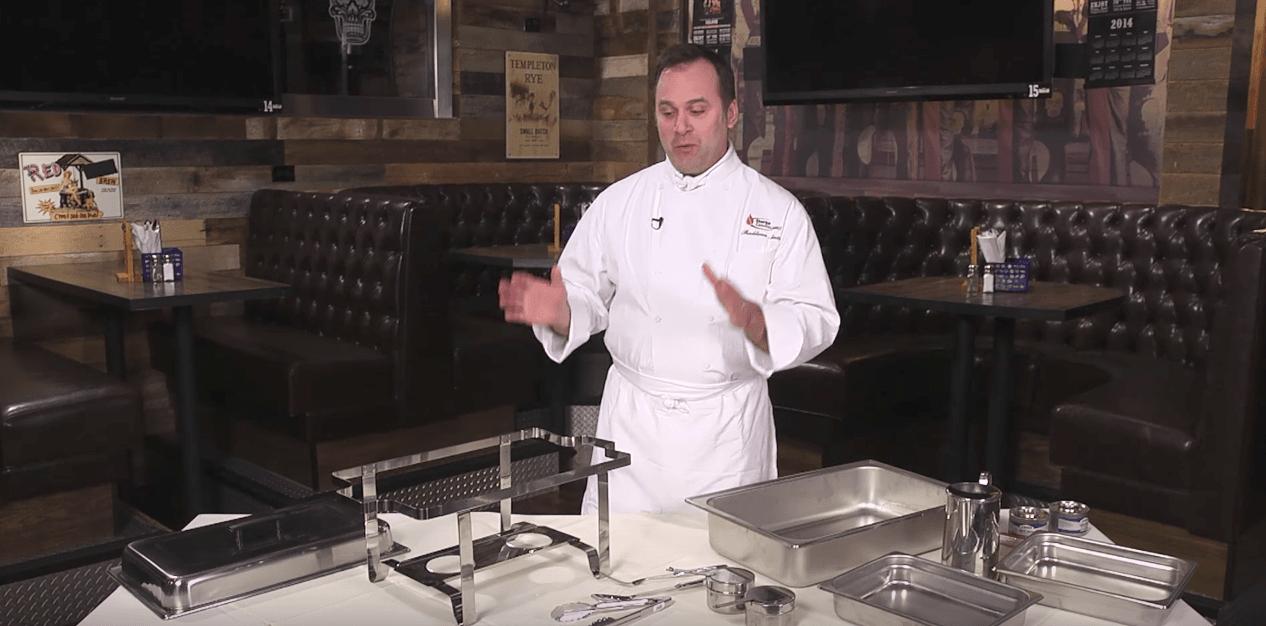 vidéo chafing dish