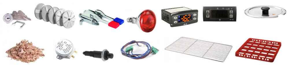 les pièces détachées et accessoires